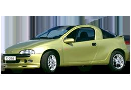 Дефлекторы на боковые стекла (Ветровики) для Opel (Опель) Tigra I 1994-2000