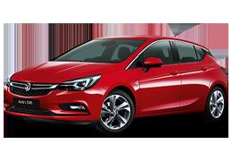 Дефлекторы на боковые стекла (Ветровики) для Opel (Опель) Astra K 2015+