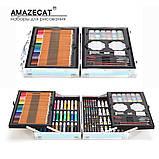 Набор для рисования в чемоданчике Amazecat, модель Travel in space, фото 5