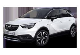 Дефлекторы на боковые стекла (Ветровики) для Opel (Опель) Crossland X 2017+