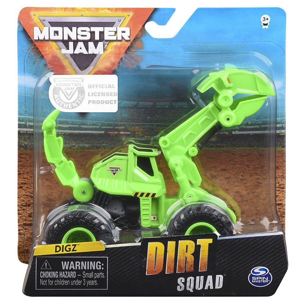 Машинка Monster Jam 1:64 Бульдозер