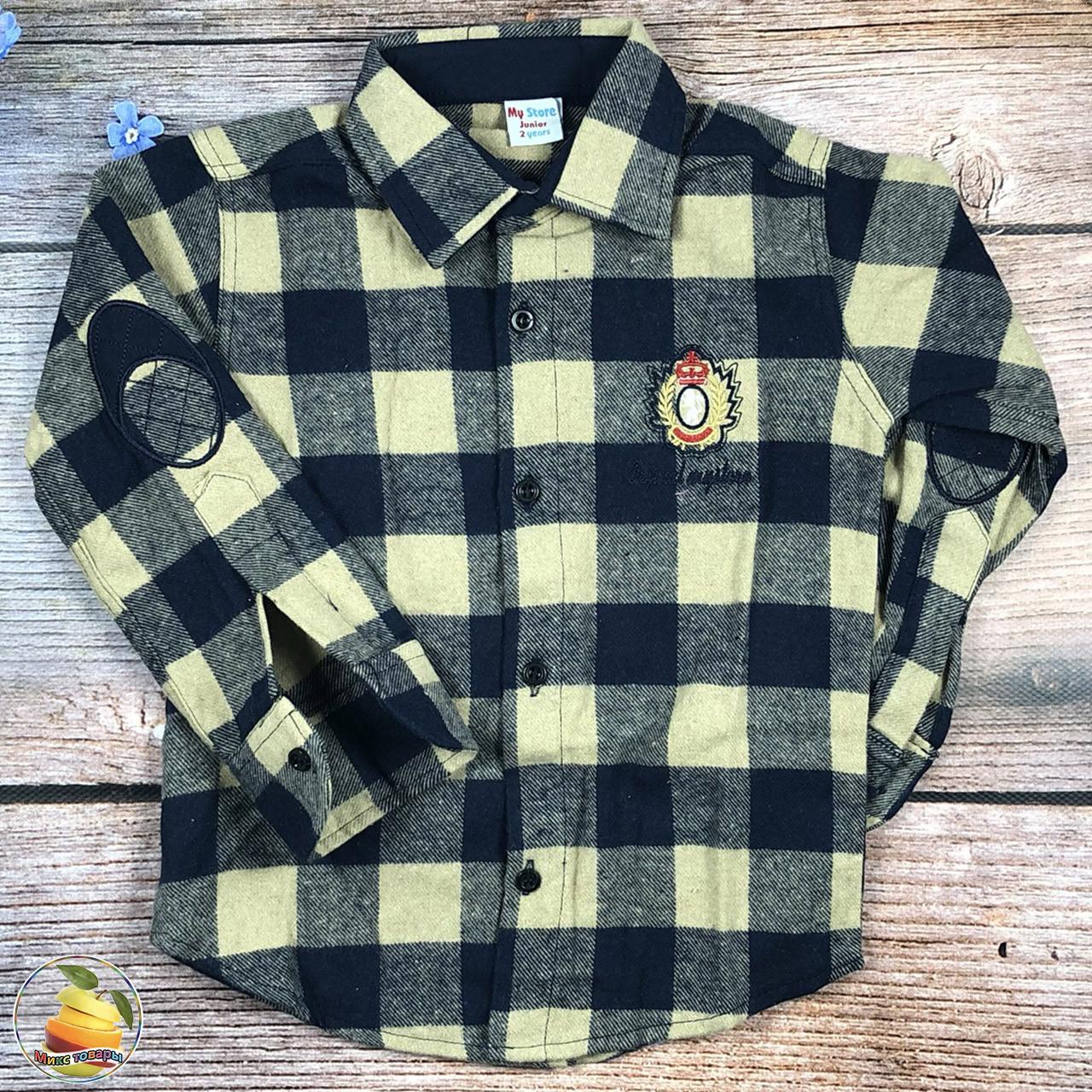 Дитяча байкова сорочка Розмір: 2,3,4,5,6 років (21089)