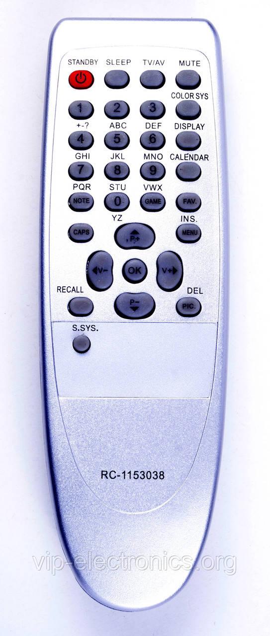 Пульт Saturn  1153038 (TV)  Elenberg, TCL