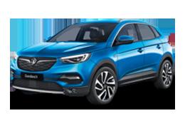 Дефлекторы на боковые стекла (Ветровики) для Opel (Опель) Grandland X 2017+