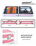 Набор для рисования в чемоданчике Amazecat, модель Travel in space, фото 8