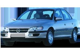 Дефлекторы на боковые стекла (Ветровики) для Opel (Опель) Omega B 1994-2003