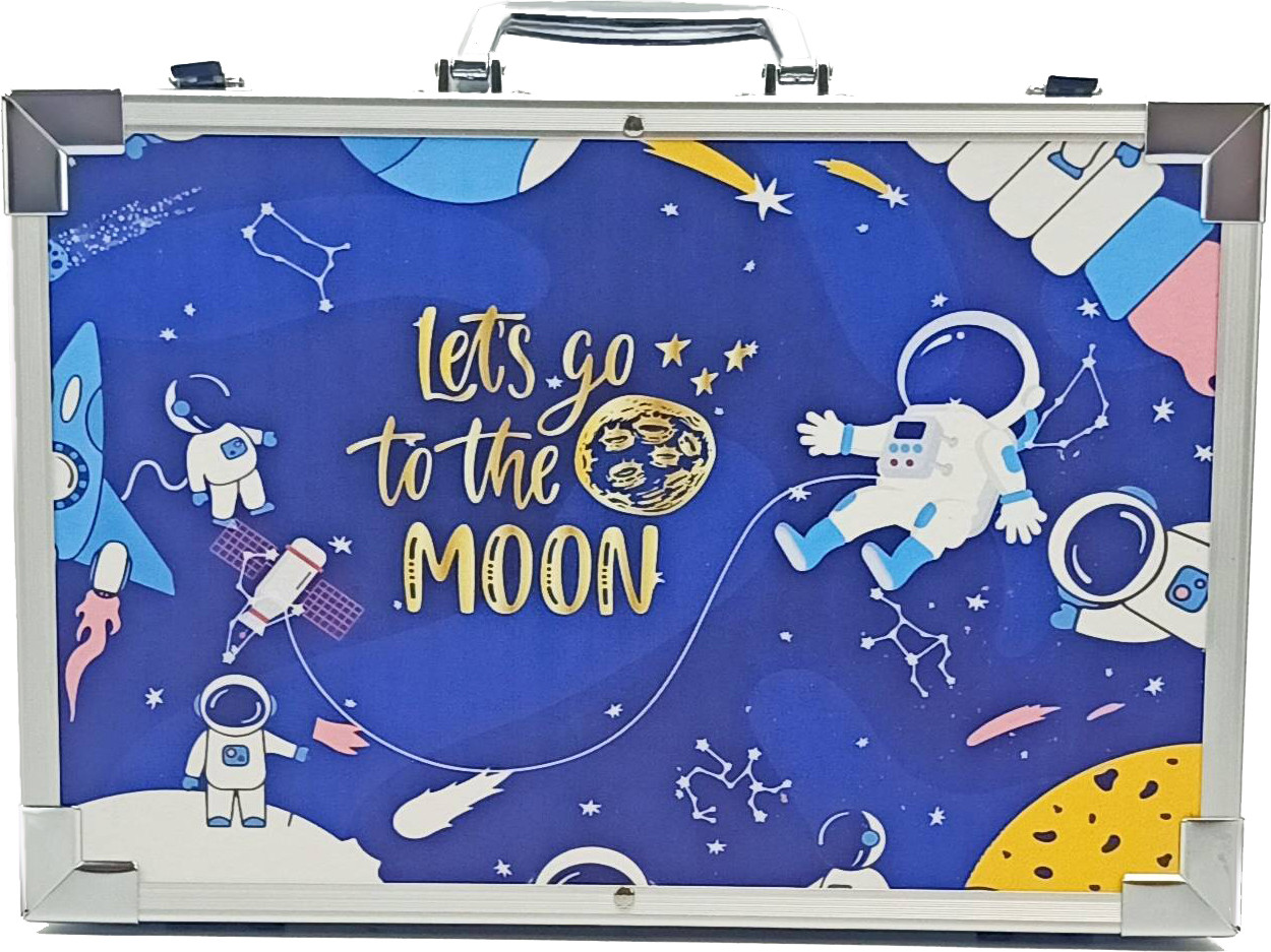 Набор для рисования в чемоданчике Amazecat, модель Travel in space