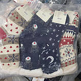 """Шкарпетки теплі з підошвою """"плямки"""" на флісі домашні, фото 5"""