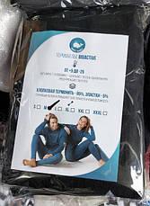 Два комплекти термобілизни чоловіче/жіноче + два баффі + дві пари термошкарпеток до - 25°С, фото 2