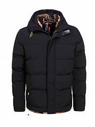 Куртка мужская зимняя черная Glo-Story XXL