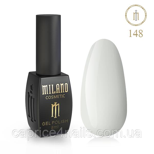 Гель-лак Milano, 8ml, № 148