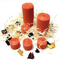 Набор декоративных свечей в подарочной коробке