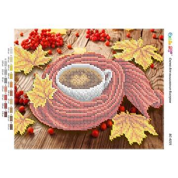 """Схема для вишивки бісером """"Осіння кава"""" БР-4225"""