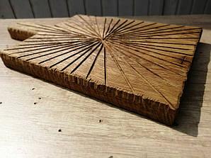 Подставка под сковородку Прямоугольная, деревянная