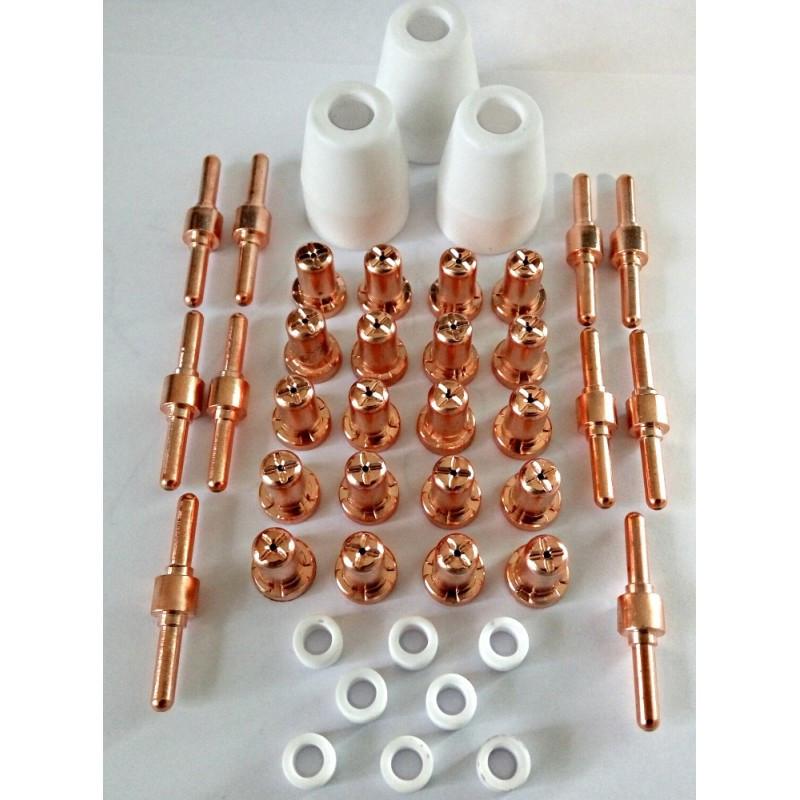 Расходники CUT-40, На горелку PT-31 (катод, анод, керамика, газовое кольцо)