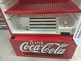 Винтажный холодильник Coca-Cola, холодильная витрина ретро, фото 6