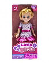 "Лялька ""Little girls"" (фіолетовий) 63007A"