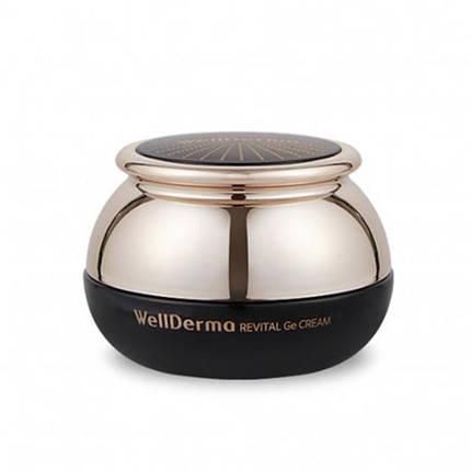 Антивозрастной спа-крем с германием WellDerma Revital Ge Cream, 50 мл, фото 2