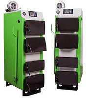 Твердотопливный котел MCE V2 S 30 кВт  с автоматикой и вентилятором