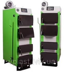Твердотопливный котел MCE V2 S 15 кВт с автоматикой и вентилятором