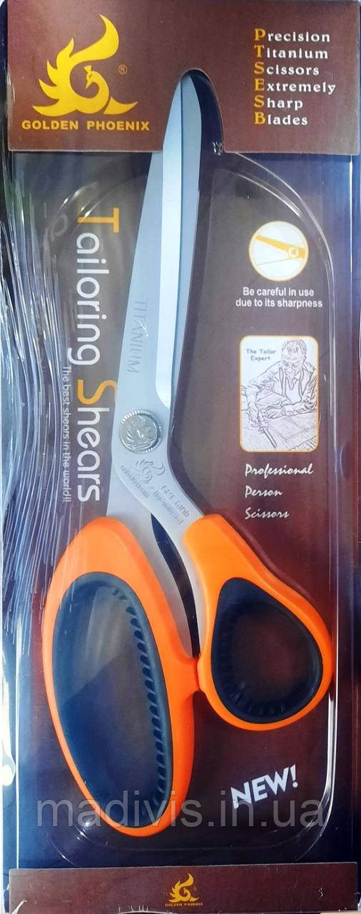 Кравецькі ножиці Golden Phoenix GPT-6100 (240мм)
