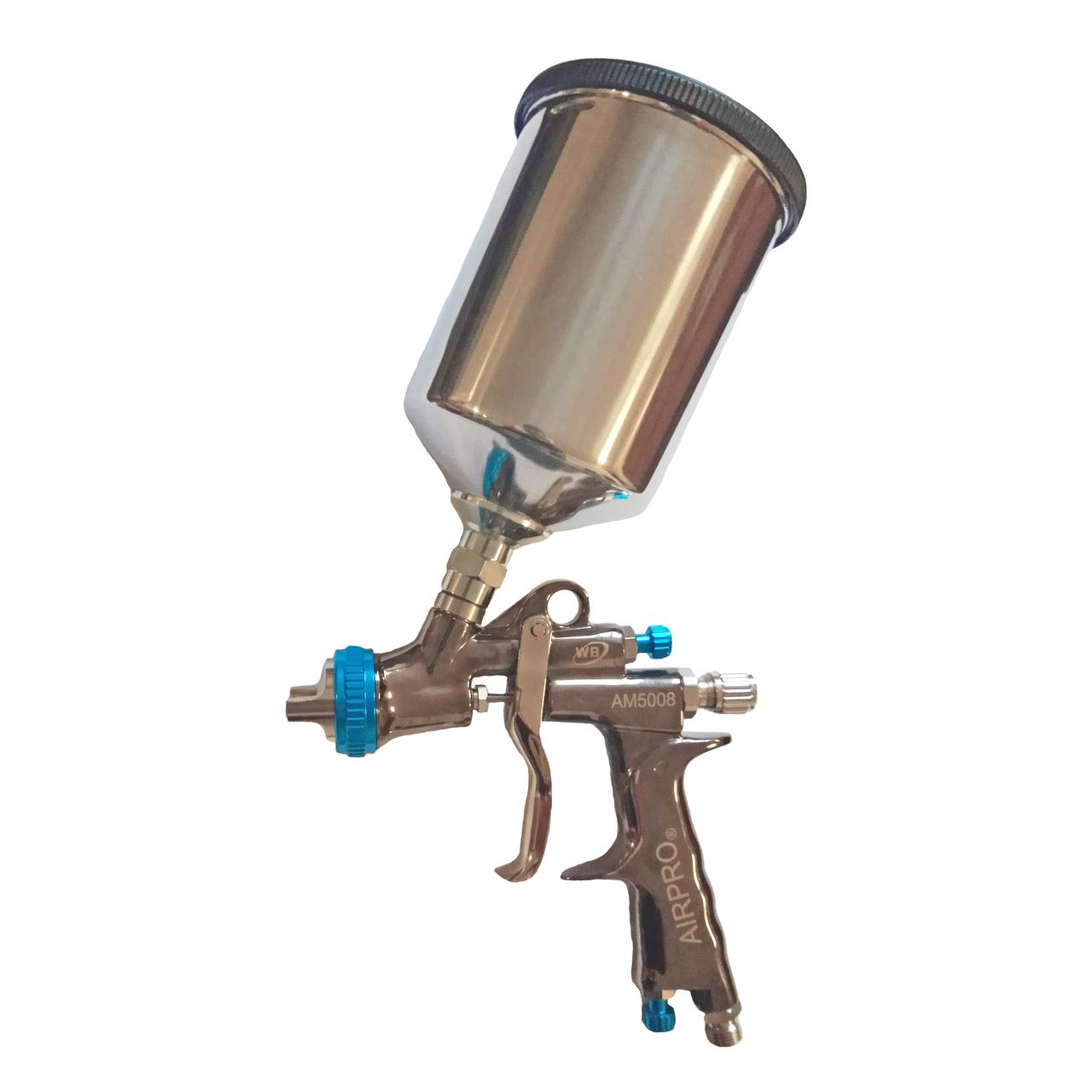 Краскопульт пневматический Air Pro AM5008 LVLP WB PLUS-AL (1,2 мм)