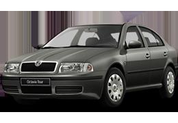 Дефлекторы на боковые стекла (Ветровики) для Skoda (Шкода) Octavia 1 (A4) Tour 1996-2010