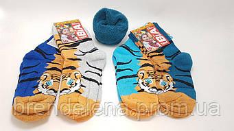 Детские зимние носки махра внутри. (р18) 5-6 лет