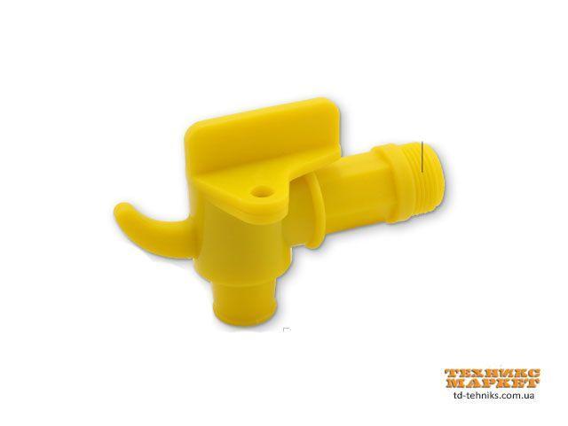 """Кран пластиковий для бочки Groz FAU/3-4, 3/4"""", М10х1 (44387)"""