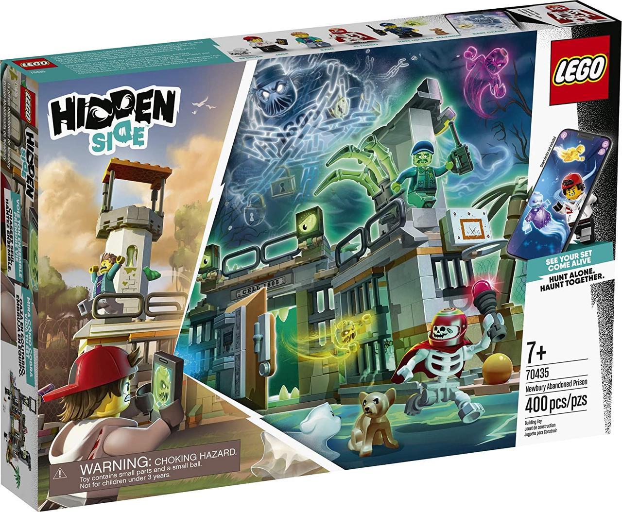 Lego Hidden Side Заброшенная тюрьма Ньюберри (70435)