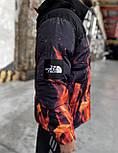 Пуховик - Мужской Пуховик The North Face 700 - Fire, фото 4