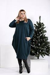Зеленое платье скрывающее живот