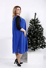 Трикотажное платье больших размеров, фото 2