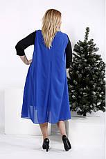 Трикотажное платье больших размеров, фото 3
