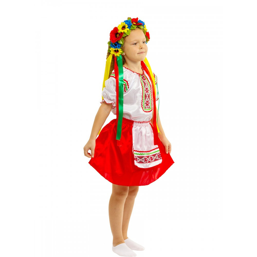 Карнавальный костюм Украинки для девочки