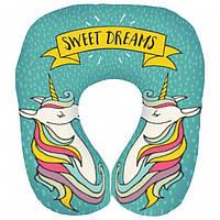 Подушка для путешествий дорожная Sweet dreams