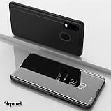 Комплект стекло на дисплей + Зеркальный Smart чехол-книжка Mirror для Xiaomi Redmi Note 7 /, фото 7