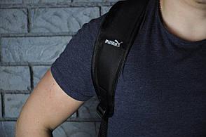 Городской рюкзак в стиле Puma Ferrari Fanwear Backpack черного цвета, фото 2