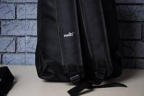 Городской рюкзак в стиле Puma Ferrari Fanwear Backpack черного цвета, фото 3