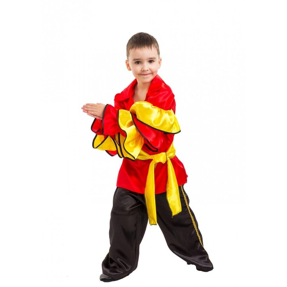Маскарадный костюм Танцора, Испанца для мальчика