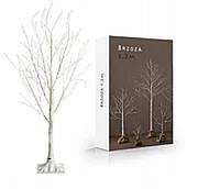 """Новогоднее декоративное дерево-гирлянда """"Береза"""" 160 см 96 Led IP 51 Белый"""