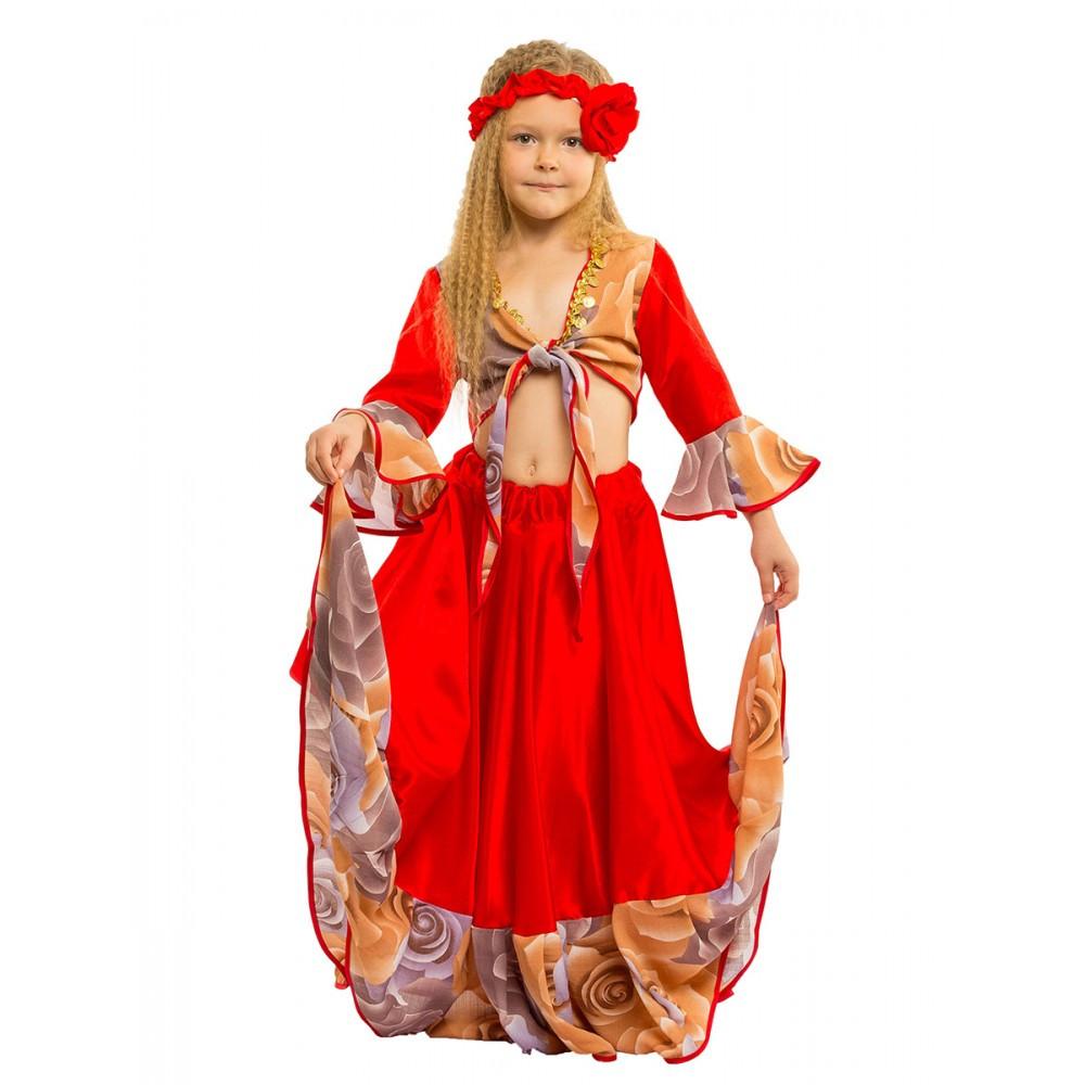 Детский маскарадный костюм Цыганки для девочки