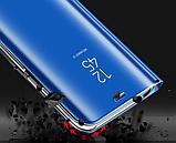 Комплект Стекла + Зеркальный Smart чехол-книжка Mirror для Xiaomi Redmi Note 8 Pro /, фото 7