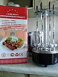 Шашлычница электрическая со стеклянной колбой Чудесница-6  (6 шампуров), фото 3