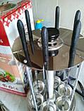 Шашлычница электрическая со стеклянной колбой Чудесница-6  (6 шампуров), фото 4