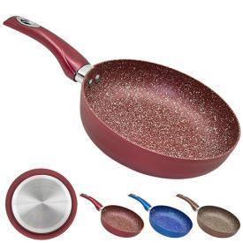 Сковорода с мраморным покрытием 24см, фото 2
