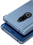 Комплект скло на дисплей + Дзеркальний Smart чохол-книжка Mirror для Xiaomi Redmi 8 /, фото 10