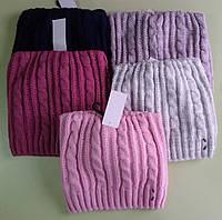 Зимняя шапка детская для девочки Китти