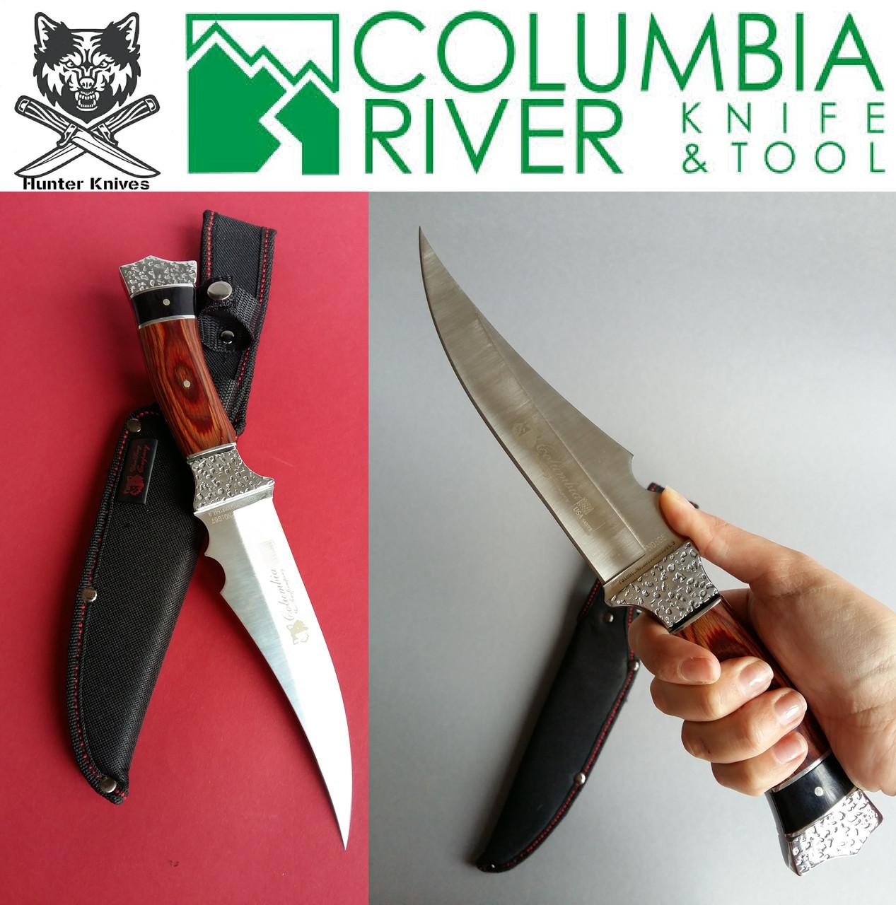 Большой нож с чехлом для охоты, рыбалки и туризма. Боевые ножи Columbia Fantom.