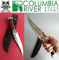 Большой нож с чехлом для охоты, рыбалки и туризма. Боевые ножи Columbia Fantom., фото 1